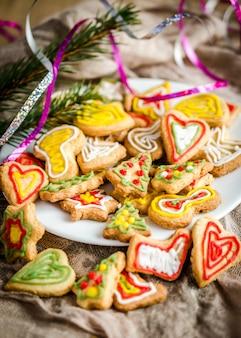 Biscoitos de natal caseiros