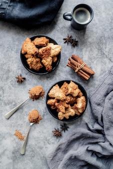 Biscoitos de natal com canela