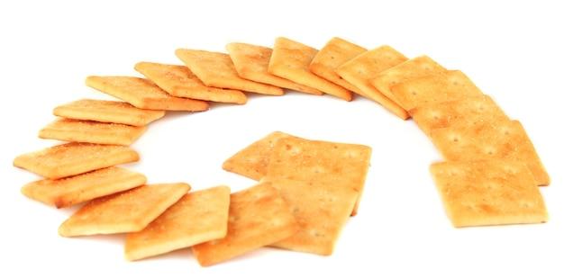 Biscoitos deliciosos em branco