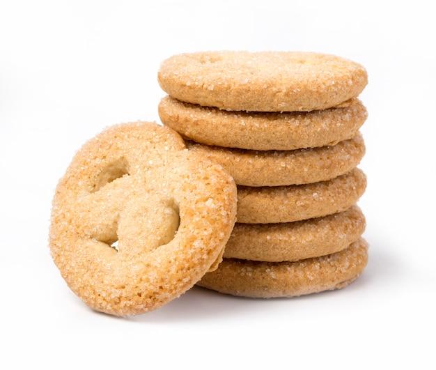 Biscoitos deliciosos isolados