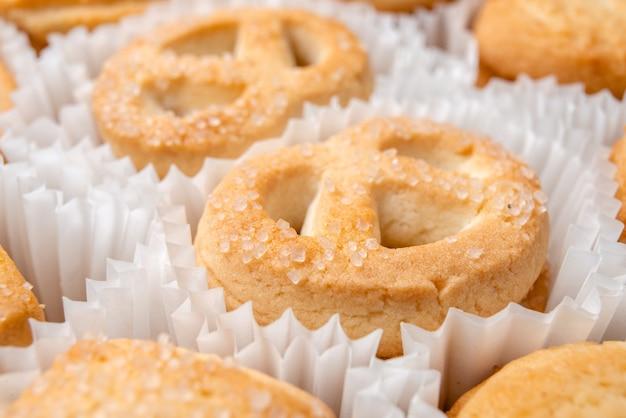 Biscoitos doces deliciosos