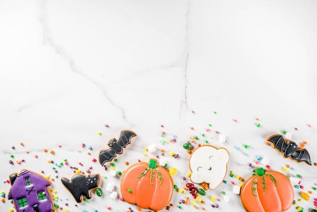 Biscoitos e doces de halloween