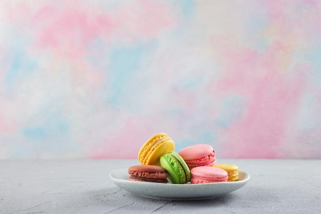 Biscoitos em um prato