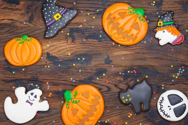 Biscoitos para festa de halloween