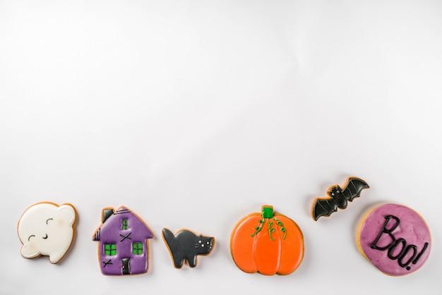 Biscoitos tradicionais de halloween