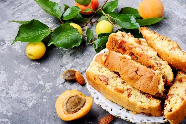 Biscotti de amêndoa italiana