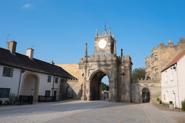 Bispo, auckland, reino unido, 27 de julho de 2021. prefeitura do bispo auckland. norte do reino unido, cidade popular para se visitar. belos edifícios antigos britânicos. northumberland.