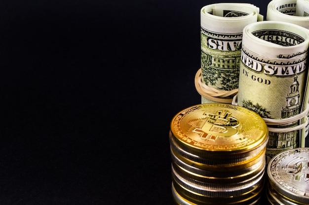 Bitcoin btc cryptocurrency meio de pagamento no setor financeiro