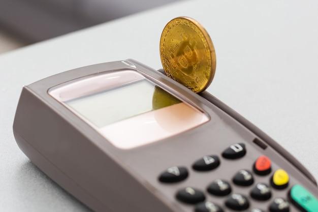 Bitcoin com terminais pos