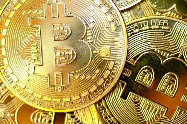 Bitcoin dourado