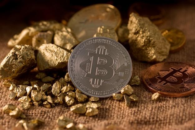 Bitcoin é dinheiro digital para o investidor ter alto risco