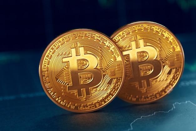 Bitcoin e gráfico