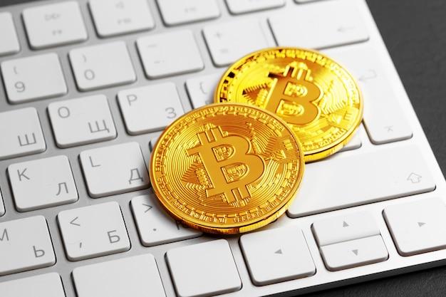 Bitcoin no teclado