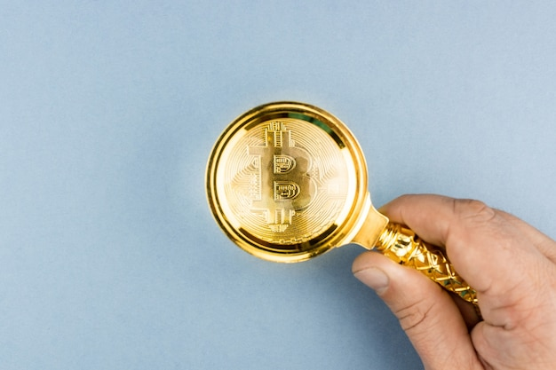Bitcoin sob a lupa