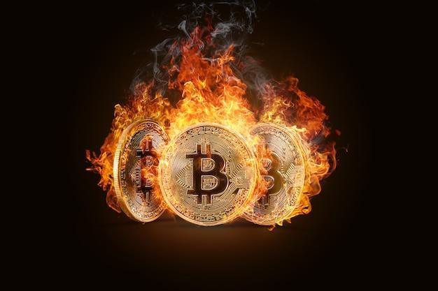 Bitcoins. dinheiro eletrônico, moeda criptografada.