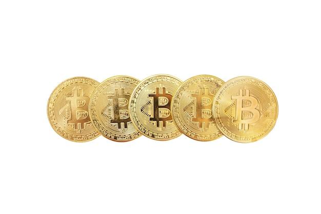 Bitcoins isolados