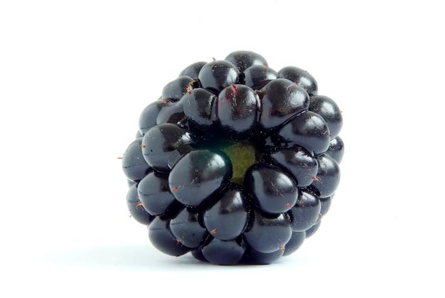 Blackberry isolado em fundo branco