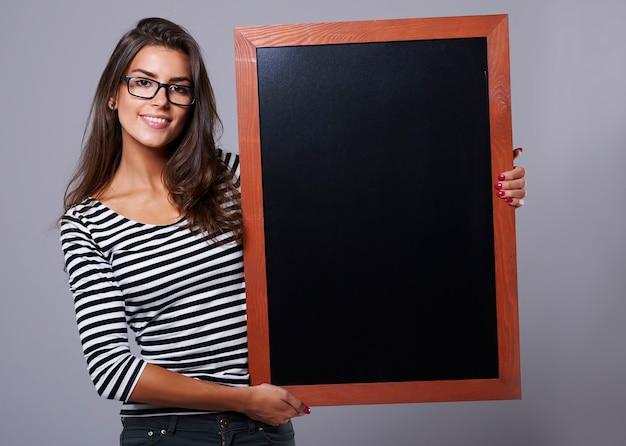 Blackboard é muito útil para tarefas domésticas