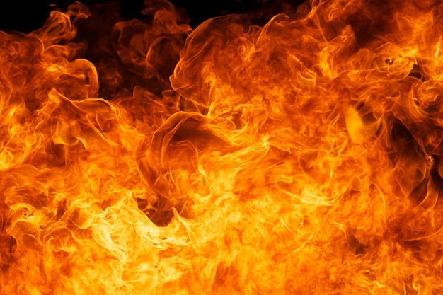 Blaze fogo chama textura de fundo