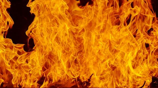 Blaze fundo de chamas de fogo e texturizado