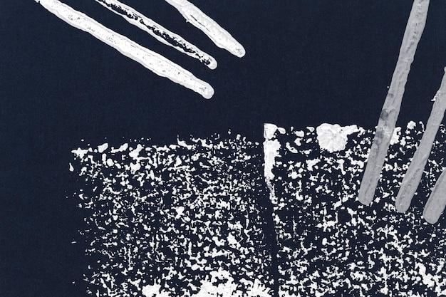 Bloco azul imprime fundo com formato quadrado