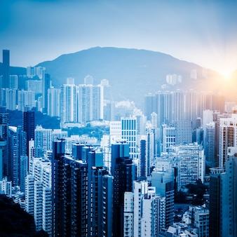 Bloco de apartamentos hong kong