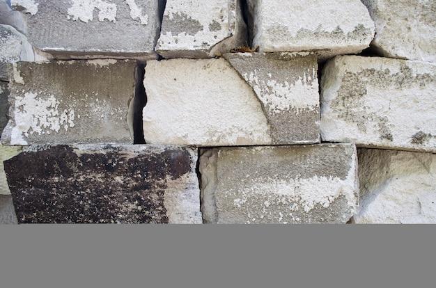 Bloco de construção de concreto.