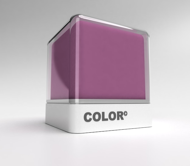 Bloco de desenho em cor roxa