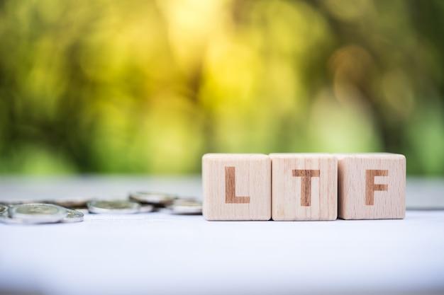 Bloco de palavras ltf no formulário de informações da folha de pagamento