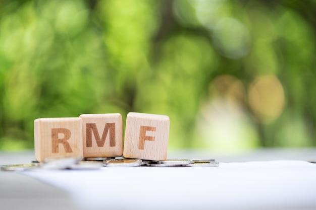 Bloco de palavras rmf no formulário de informações da folha de pagamento