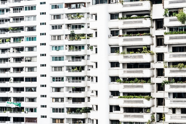 Blocos de apartamento