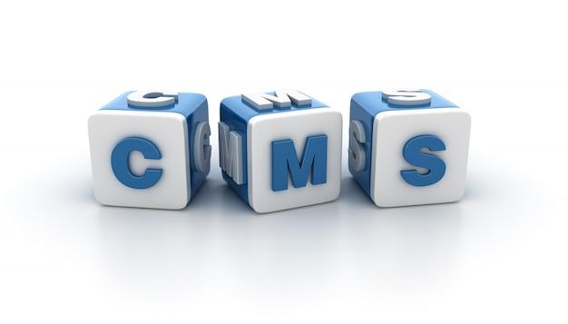Blocos de blocos com o word cms