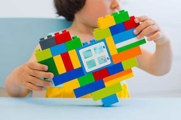 Blocos de brinquedo de plástico