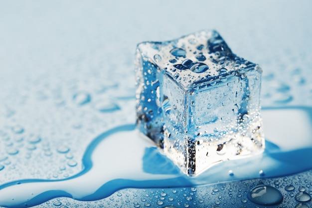 Blocos de cubos de gelo