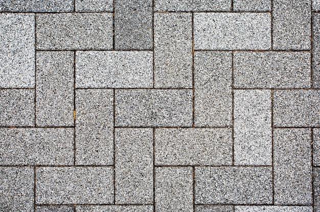 Blocos de pedra, pavimentação de textura