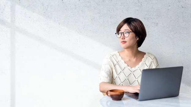 Blogueira feminina