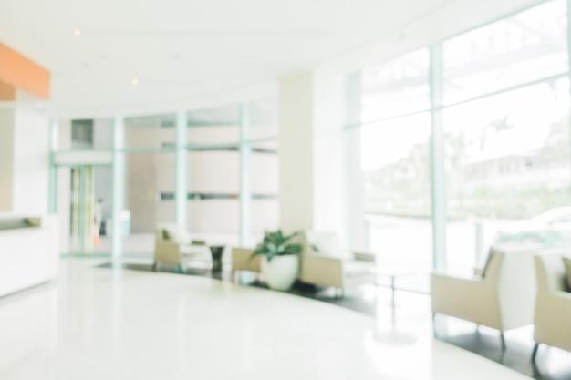 Blur lobby do hotel