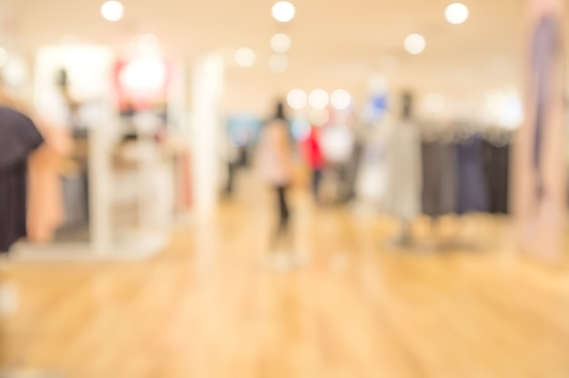 Blur loja de departamentos com bokeh background. fundo abstrato