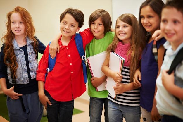 Boas relações entre os alunos são muito importantes