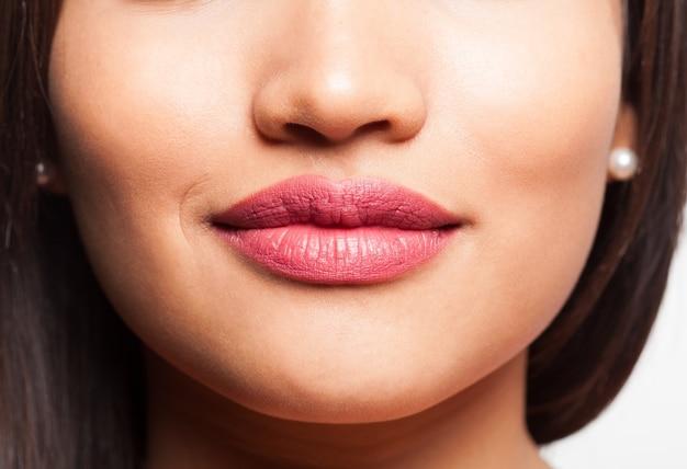 Boca de uma mulher