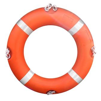 Bóia salva-vidas isolada