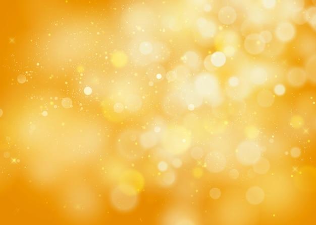 Bokeh abstrata de halloween laranja glitter sparkle fundo