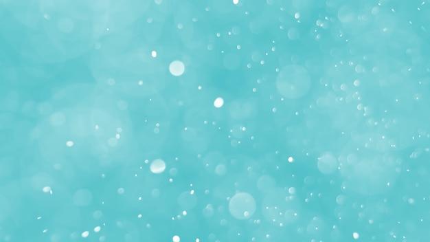 Bokeh abstrato com cor azul suave