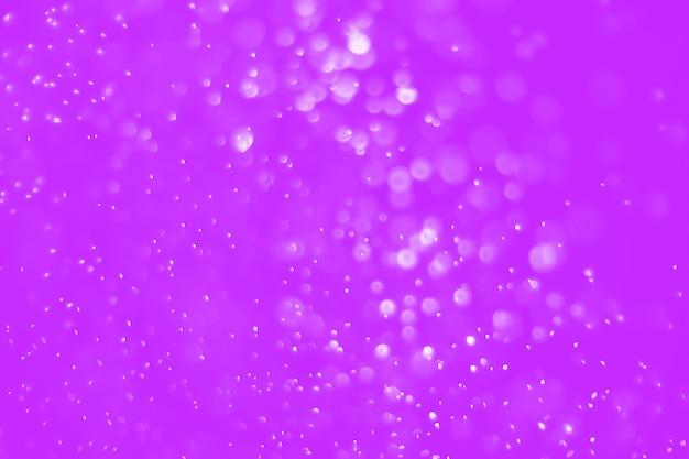 Bokeh abstrato com cor roxa