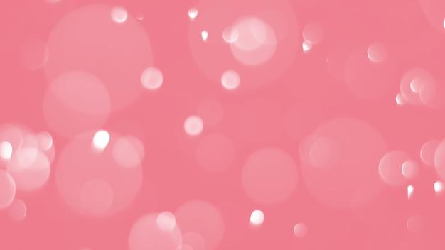 Bokeh abstrato com cor vermelha suave