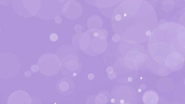 Bokeh abstrato com doce cor roxa