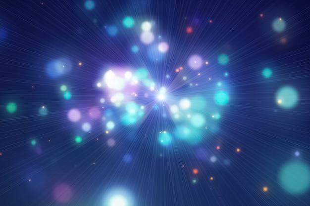 Bokeh abstrato luzes de fundo.
