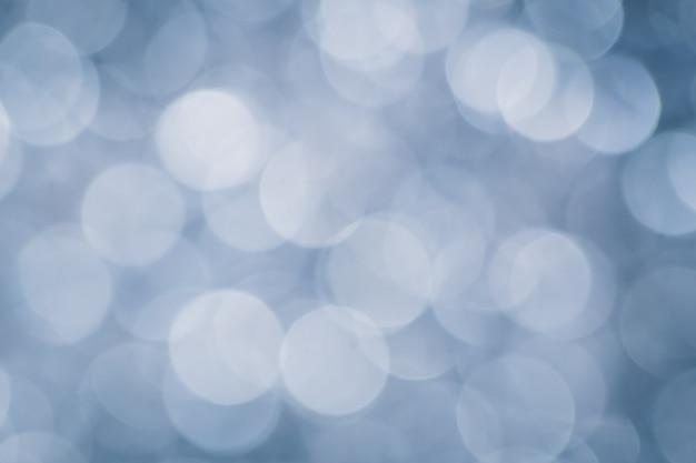 Bokeh azul do borrão da pérola para o fundo, conceito luxuoso.