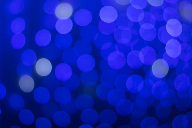 Bokeh azul escuro bonito