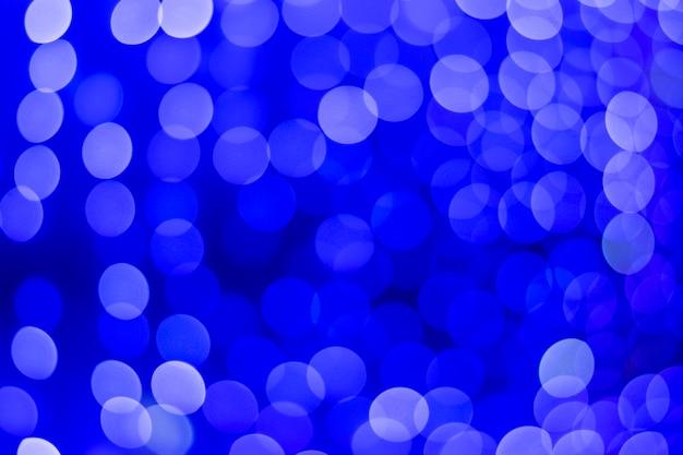 Bokeh azul lindo